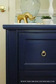 pictures of navy blue painted furniture navy blue nightstand dresser makeover blue furniture