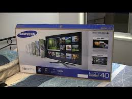 tv 40 inch smart. samsung series 6 f6400 40-inch 3d smart tv - first impressions tv 40 inch
