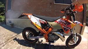 ktm 125 exc motard summer 2014 youtube