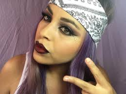 chola eye makeup