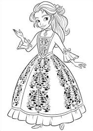 Kids N Funcom 44 Coloring Pages Of Elena Of Avalor