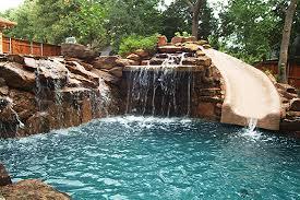 Fine Pool Designs With Slides Swimming Absurd Slide Into Design Inspiration