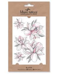 переводные тату Miami Tattoos Bloom