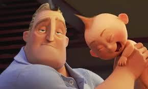 Resultado de imagen de the incredibles 2 bob and jack jack