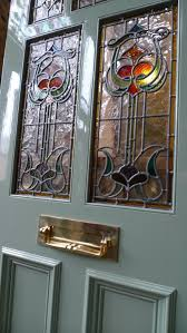 art nouveau stained glass door front door the pictures to show larger views