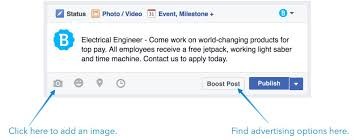 how posting jobs on facebook can tap into more candidates example of facebook job posting