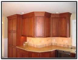 kitchen cabinet crown molding size