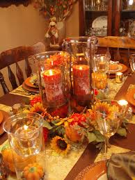 autumn tablescape thanksgiving table fall decor festive dinner party