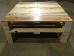 pallet furniture coffee table. reclaimed pallet wood becomes a coffee table mcintyre furniture