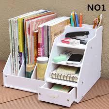 diy office desk accessories. Simple Desk DIY Office School Supplies Desk Accessories Stationery Organizer File Tray  Magazine Makeup Pencil Pen Note To Diy E