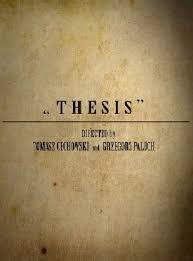 Диссертация смотреть онлайн  Диссертация thesis 2009