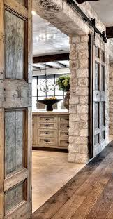 pocket doors make stone feel like home
