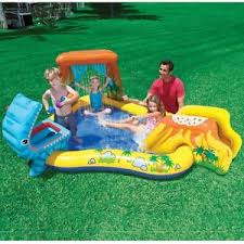 outdoor water games for kids. Image Is Loading Kids-Swimming-Pool-Inflatable-Slide-Outdoor-Indoor-Play- Outdoor Water Games For Kids