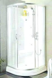 round corner shower kit custom doors awesome sofa astonishing