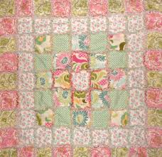 Kid Bedroom: Magnificent White And Pink Floral Baby Quilt Design ... & ... Beautiful Baby Bedroom Accessories And Quilt Design For Your Beloved  Babies : Outstanding Pink Floral Baby ... Adamdwight.com