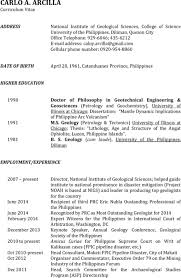 Geological Engineer Sample Resume - Free Letter Templates Online ...