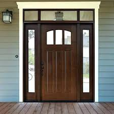 front door with sidelights craftsman 3 lite arch stained mahogany wood front door with and transom front door with sidelights