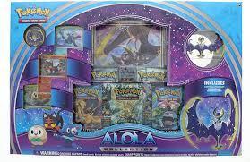 Alola Lunala Collection Box Pokemon TCG Pokémon Individual Cards Pokémon  Trading Card Game