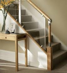 Contemporary railing alternative with acrylic panels by FUSION.