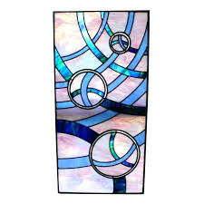 large stained glass panels stained glass pane window with rotating discs panels large for large