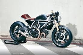 return of the cafe racers holographic hammer ducati scrambler cafe racer