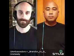 unsteady people. unsteady - x ambassadors (smule cover) lead singer sam harris of xambassadors +brandon badua cover people