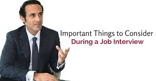 18 Important Things To Consider During A Job Interview