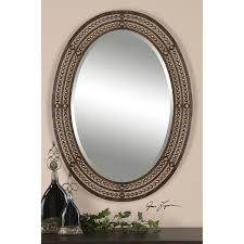 Oval Mirrors Bathroom Bathroom Ideas Great Oval Bathroom Mirrors For The Bathroom
