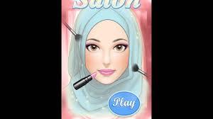 hijab makeup salon game
