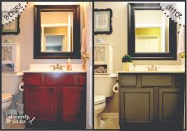 Kitchen And Bathroom Cabinets Painting Bathroom Cabinets Sincerely Sara D