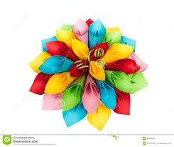 Paper Flower Color Stock Photo Image Of Decoration Background