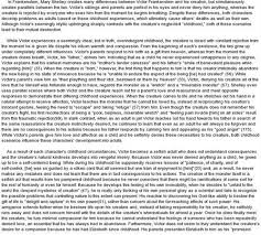 th monster essay lidia per your good question this is direct from dr mcpherson s monster essay right