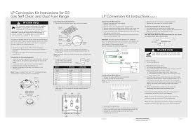 Lp Conversion Kit Instructions Manualzz Com