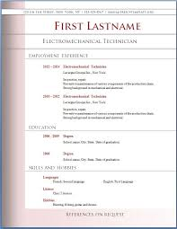 Free Download Professional Resume Format | Resume Format And