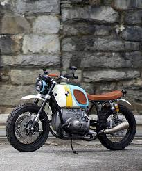 bmw r60 6 custom motorcycle by vintage steele is a rainbow parade