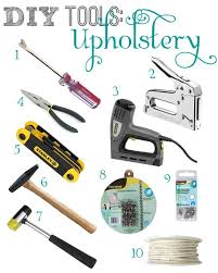 roundup of beginner diy tools for upholstery