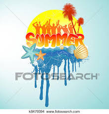 summer party clipart. Beautiful Summer Clipart  Summer Party Design  Fotosearch Search Clip Art Illustration  Murals Drawings And I