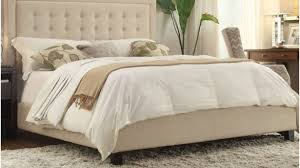 modern king headboard. Sensational Fabric King Headboard Bedroom Modern Beige Which Slicked Up With White