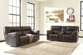 Reclining Living Room Sets Buy Ashley Furniture Barrettsville Durablend Chocolate Reclining