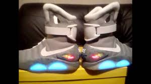 darren s nike mag v2 replica completed 5 12 2016 marty mcfly conversion