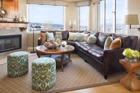throw pillows for leather couch family room traditional with leather sofa pillows