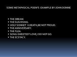 donne as a metaphysical poet essays john donne as a metaphysical poet essays