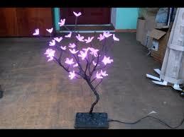 Как сделать <b>светодиодное дерево</b> сакура своими руками. Очень ...