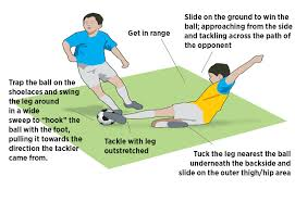 Making A Slide Making A Slide Tackle And A Block Tackle U13 14 Activity Soccer