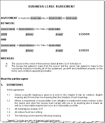 lease contract template sublease contract sample