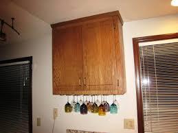 Wine Glass Hangers Under Cabinet Under Cabinet Wine Glass Rack For Wall Excess Under Cabinet Wine
