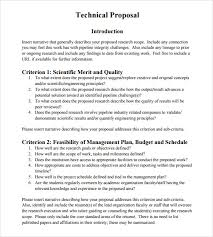 Technical Proposal Templates Sample Technical Proposal 8 Documents In Psd Word