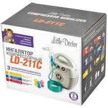 Компрессорный <b>ингалятор</b> - небулайзер <b>Little Doctor LD</b>-<b>211C</b> ...