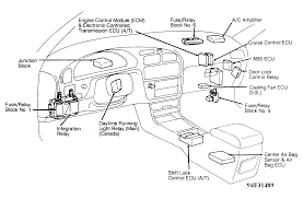 97 Camry Fuse Box Diagram