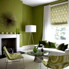 Living Room Decorative Orange And Green Colour Combo In Drawing Room Decorative Green